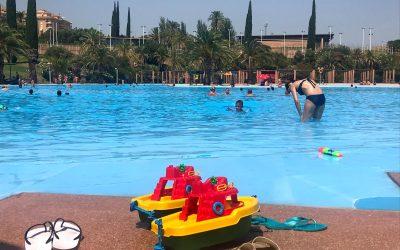Las piscinas municipales de verano registran 11.369 usuarios durante el mes de julio