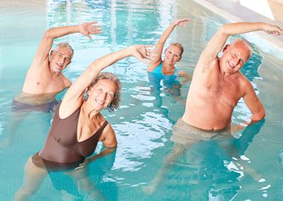 Curso aquafitness para mayores (a partir de 60 años) -Las Fuentezuelas-