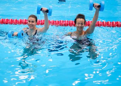 Curso aquafitness para adultos -Las Fuentezuelas-