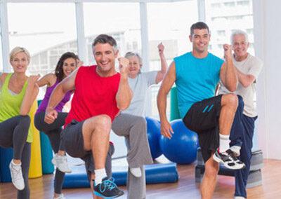 Curso actividad física para adultos -La Salobreja-
