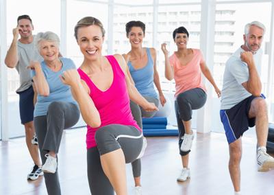 Curso actividad física para adultos -Pabellón Carlos Martínez Esteban (Bulevar)-