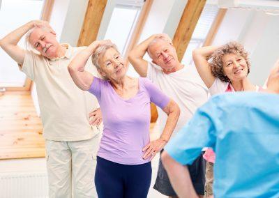 Curso actividad física para mayores (a partir de 65 años) -La Salobreja-