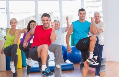 Curso actividad física para adultos -La Salobreja- Patronato Municipal de Deportes