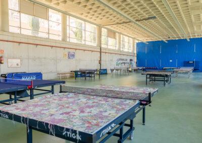 Sala de Tenis de Mesa