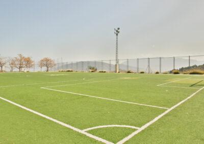 Campos de fútbol elementales de barrio