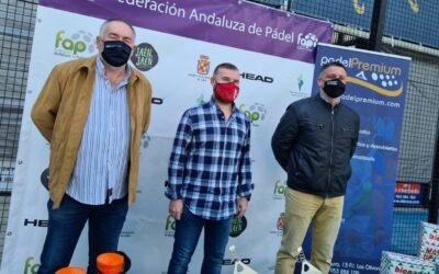 El Ayuntamiento y la Federación Andaluza organizan este fin de semana el Campeonato Andaluz de Veteranos de Pádel que traerá a la ciudad a 340 deportistas en una cita de gran calidad