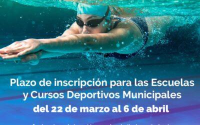 El Patronato de Deportes abre el tercer plazo de inscripción para las Escuelas Deportivas y Cursos organizados en un entorno seguro