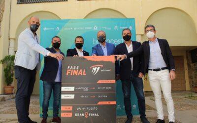 El Ayuntamiento atrae a la ciudad la Final Four de ascenso a la Liga EBA de Baloncesto, otro hito organizativo que suma en el objetivo de que Jaén sea Ciudad Europea del Deporte 2023