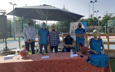 Presentación oficial del Basket Jaén 21, un nuevo club de Jaén que concibe el baloncesto como un elemento integral de desarrollo