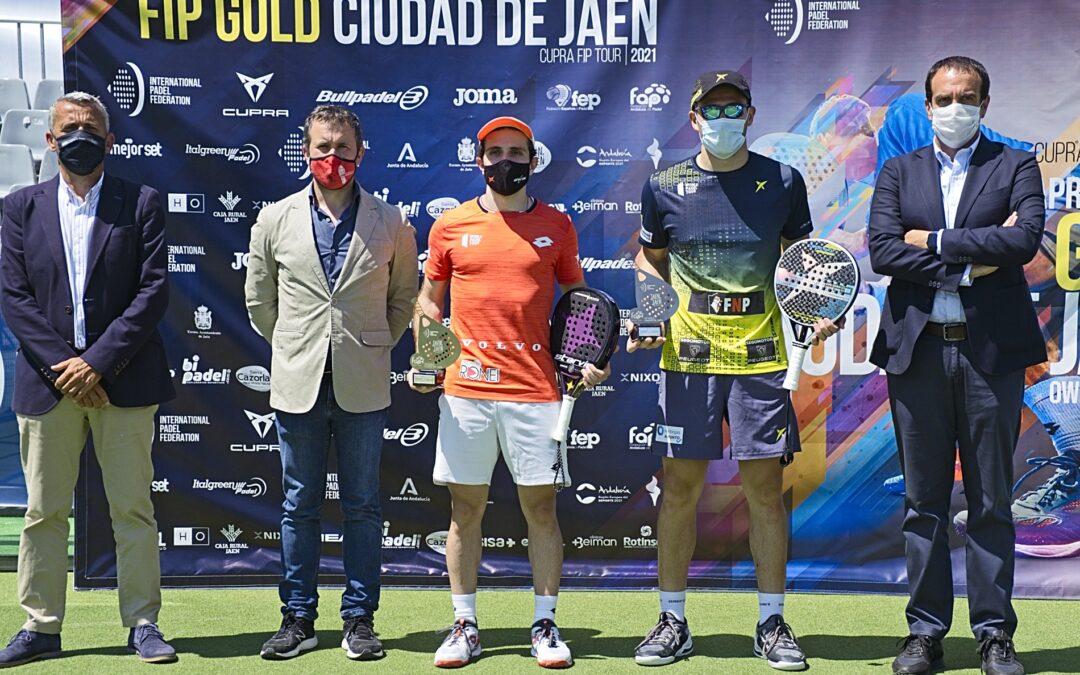 Las andaluzas Victoria Iglesias y Mari Carmen Villalba y los brasileños Lucas Bergamini y Lucas Campagnolo se imponen en el FIP Gold Ciudad de Jaén