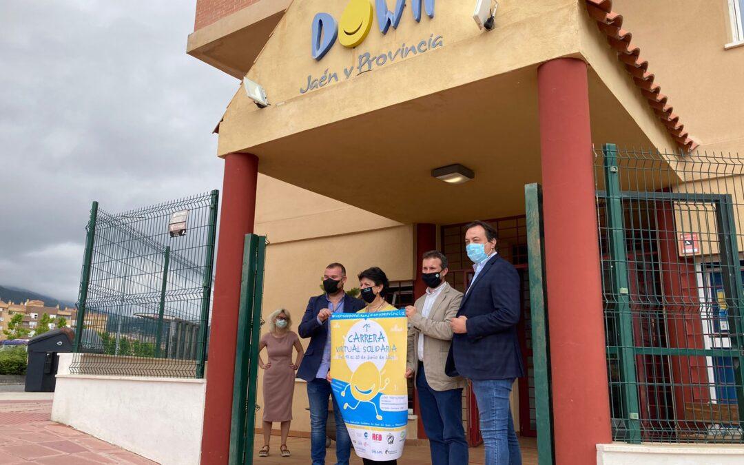 El Ayuntamiento anima a participar en la 1ª Carrera Virtual Solidaria de la Asociación Síndrome de Down Jaén y Provincia, una forma de refrendar el compromiso de Jaén con la entidad