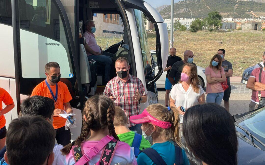 Ayto Jaén comienza hoy por primera vez campamentos en la Sierra de Cazorla para 100 niños y jóvenes