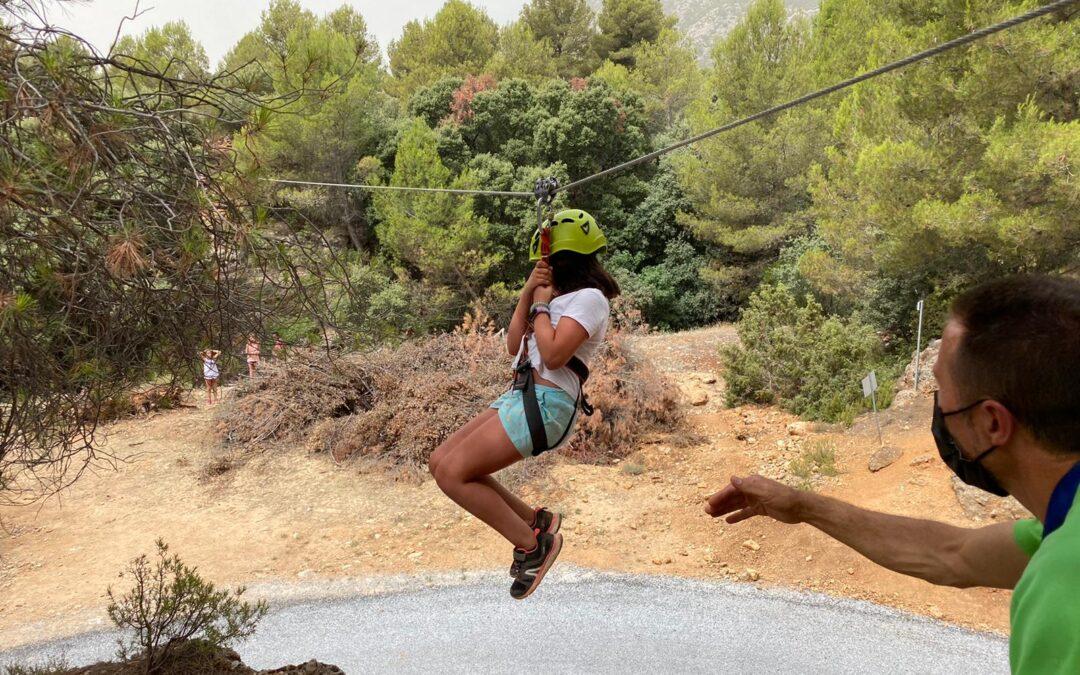 Últimas plazas disponibles para la segunda convocatoria de los campamentos del pantano de La Bolera, en Cazorla, organizados por el Patronato de Deportes