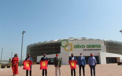 El alcalde, Julio Millán, destaca la proyección de la capital como «ciudad del deporte» con capacidad para acoger grandes citas como el Cuadrangular de Fútbol Sala