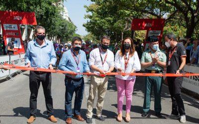 El alcalde, Julio Millán, destaca el gran escaparate para la ciudad supone el paso de La Vuelta, al mostrar su patrimonio en 190 países a través de un espectacular recorrido