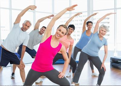 Actividad física para mayores (a partir de 65 años) -Pabellón CEIP Santa Capilla de San Andrés-