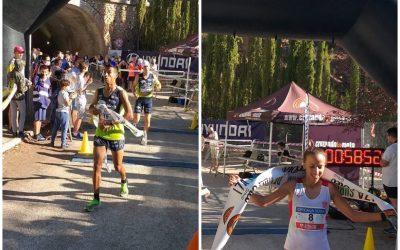 Mohamed Lansi, en hombres, y Fatima Azzahraa, en mujeres, se proclaman ganadores de la XVII Subida al Quiebrajano, que, con sus 500 participantes, ha permitido recuperar la sensación de normalidad en las pruebas deportivas