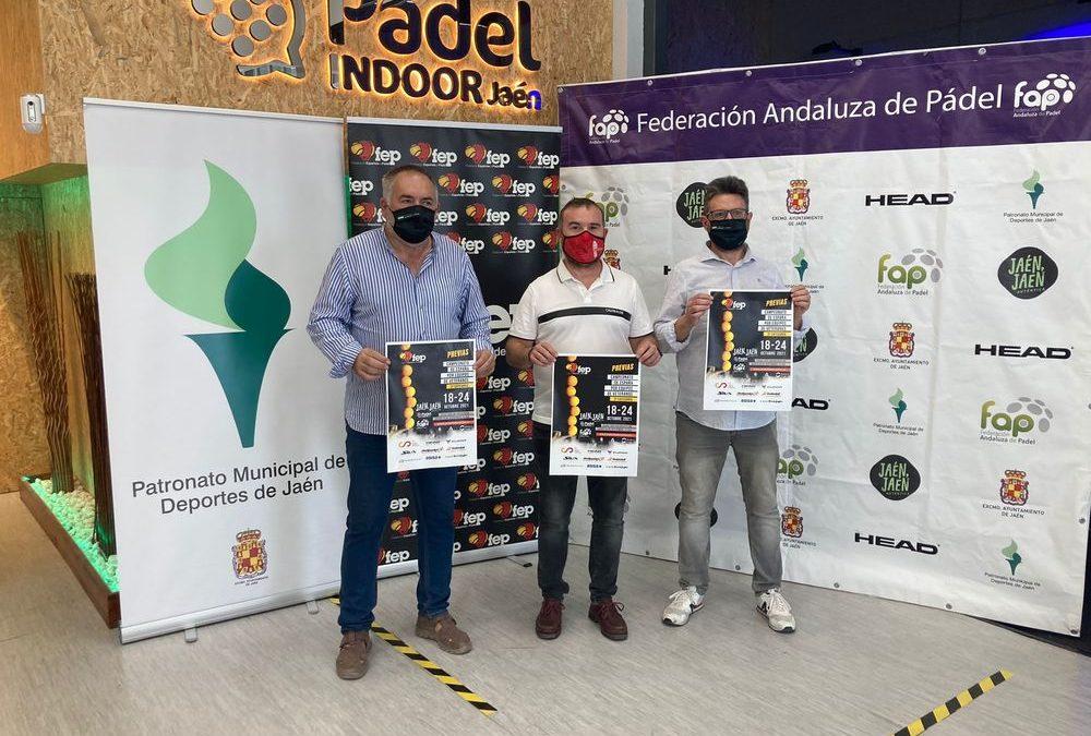 El Ayuntamiento y la Federación de Pádel organizan este fin de semana en la capital la fase final del Campeonato de España por Equipos de Veteranos de 3ª que atraerá a 480 jugadores y jugadoras